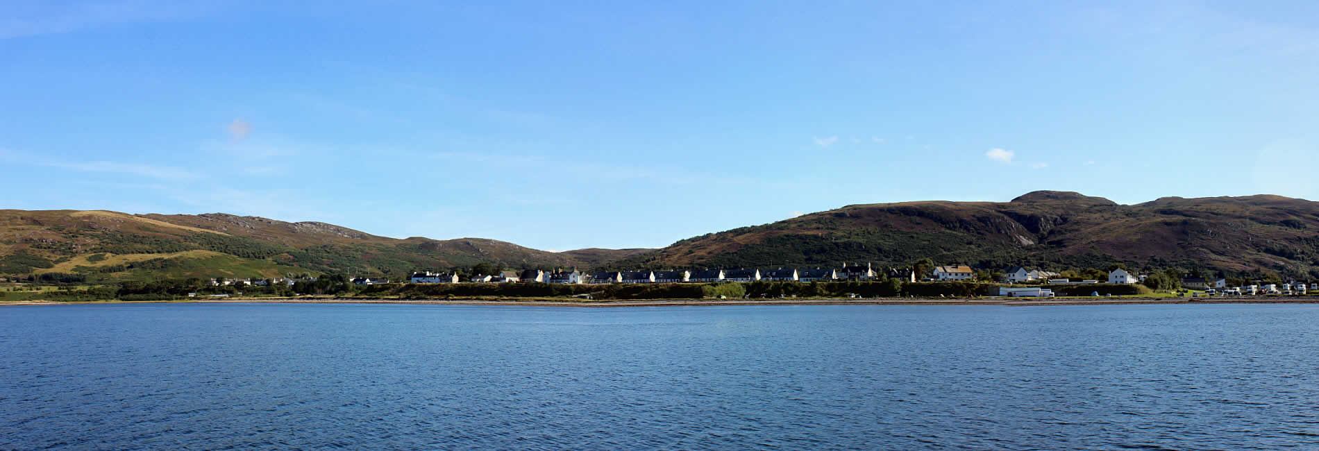 Ullapool from the sea